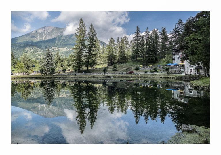 Laux - il lago d'estate
